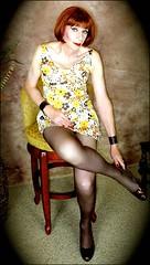 DSC07002 (msdaphnethos) Tags: transvestite crossdresser transgender redhead hanesmahogany slip daphnethomas