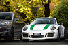 White and green 911 R (David Clemente Photography) Tags: porsche porsche911r 911r porsche911 porsche911gt3 porsche911carrera 911carrera carrera 991carrera porsche991 supercars hypercars carspotting cars