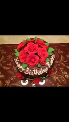 (Phxgirl) Tags: cake roses gumpaste