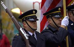 Color Guard (swong95765) Tags: men guard colorguard marching rifle flag parade uniform
