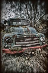 Opel Blitz (Usstan) Tags: harsh bokeh sand nikon lens sigma old møreogromsdal rust outdoor 816mm blitz norway seasons locations sunnmøre norge ørsta wreck stuck shadows d7000 autumn opel car