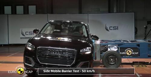 Audi Q2 прошел краш-тест Euro NCAP на 5 звезд