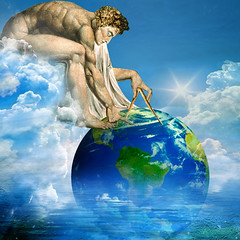 This world is but a canvas for our imagination (jaci XIII) Tags: pintura globo mundo compasso isaacnewton painting world globe compass