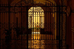Gateway (Edwin Verhulst) Tags: gate iron structure metal color porch bologna italy italia italie