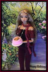 Happy Birthday Nina from LaurenLand! (Land of Dolls) Tags: diorama laurenland lauren misakiintegrity 16thscale dollsfashions homemade levitation