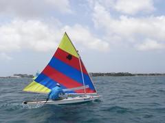 235-DSCN9850 (eric15) Tags: sea beach water race cat for boat eva surf sailing wind offshore sailors luna aruba international dash sail regatta sailor optimist sunfish oranjestad surfside