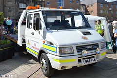 Iveco Daily Johnston 2015 (seifracing) Tags: rescue heritage cars festival fire volvo europe glasgow transport scottish daily voiture ambulance medical trust spotting services johnston iveco urgence ecosse 2015 seifracing