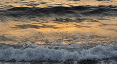 027 (Bandarphotos) Tags: sunset sea beach reflections seaside zoom      relction