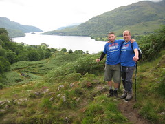 Deep Sea and Les - looking down Loch Lomond
