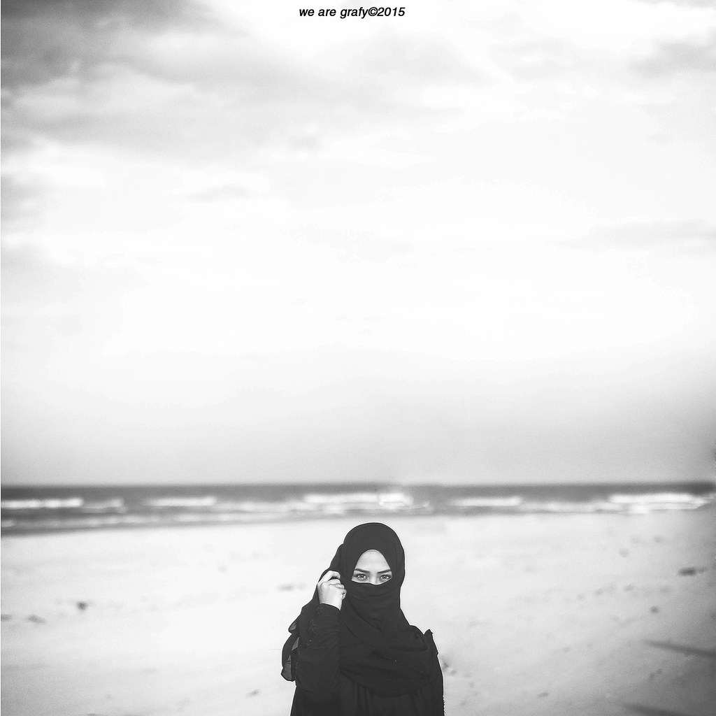 Noir alif mim ya nun tags sunset portrait blackandwhite seascape beach girl monochrome
