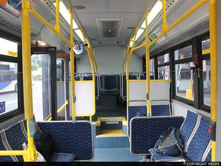 Oakville Transit Ultra LF-Interior