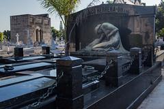 Olanco Herrera - Ortiz Monument - Colon Cemetery (JohnColeUSA) Tags: sculpture grave outdoor havana cuba publicart statuary burialsite graveart coloncemetery olancoherreraortizmonument
