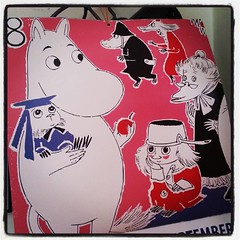 September on the Moomin calendar #moomin #Moomins #tovejansson #muumi #moomintroll (Nina A.J.) Tags: square calendar lofi squareformat moomin muumi moomintroll tovejansson moomins iphoneography instagramapp uploaded:by=instagram