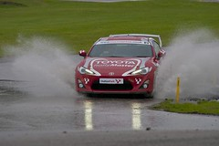 Toyota GT 86 (foto.pro) Tags: park wet water car speed stage rally toyota gt circuit 86 laps oulton