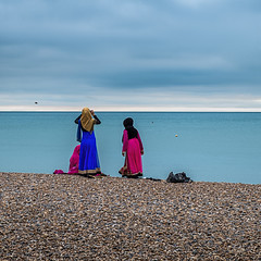 I see no ships (archie.logical) Tags: sea beach horizon pebbles