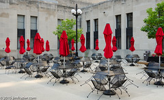 Red Wrapped Up (Jim Frazier) Tags: plaza city red summer urban copyright chicago art june architecture buildings outside restaurant illinois scenery closed downtown cityscape riverside chairs loop empty scenic cook structures jim f100 f10 architectural il patio tables umbrellas cookcounty frazier f50 2015 f20 illlinois v1000 q4 v5000 jimfrazier towm v2000 explored jimfraziercom jfpblog fastpictures 20150628chicagowalk