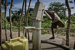 Following Harerimana Sebihogo, a refugee and his family who settled in Rwamwanja site. (( Voice Nature. )) Tags: water children uganda centralafricaandthegreatlakes congoleserefugees westernuganda rwamwanja