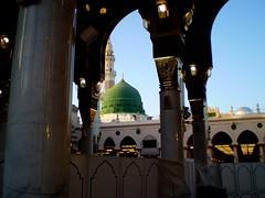 Masjid nabawi (brooklynyte4ever) Tags: saudiarabia madinah greendome prophetmuhammad masjidnabawi
