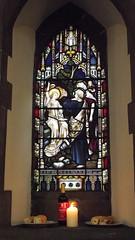 Saint Michael & All Saints 013 (byronv2) Tags: building history church window architecture edinburgh religion stainedglass kirk tollcross doorsopenday broughamstreet edimbourg saintmichaelandallsaints doorsopenday2015 rrowandanderson