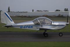 11/10/15 - EV-97 Teameurostar UK - G-CFGX (gbadger1) Tags: uk october ev 97 airfield matters 2015 wellesbourne ev97 mountford egbw teameurostar gcfgx