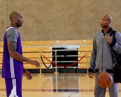Kobe and Byron Scott