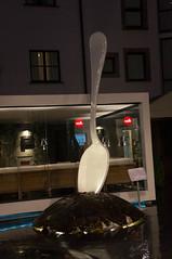 Leica Spoon (baptiste.tdlc) Tags: night florence sony spoon firenze 1855 cuillre nex 5n