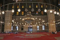 Interior Prayer Hall, Mosque of Muhammad Ali, The Citidel, Cairo, Egypt, 2015 (travfotos) Tags: egypt cairo ottomanarchitecture alabastermosque prayerhall mosqueofmuhammadali citadelofcairo muhammadalipasha mosqueofmohamedali mohamedalipasha tusunpasha