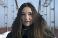 _DSC0189 (Artem_Kotenko) Tags: sony a77 a77v minolta 2485 2485mm kyiv winter autumn sun river bridge park snow cold portrait water walkway