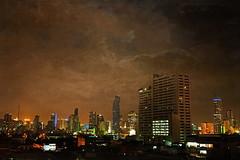 Bangkok at Night (ulli_p) Tags: city light sky art texture colors skyline buildings thailand lights asia southeastasia colours nightscape bangkok nightshots textured urbannightshot amazingcolours aworkofart flickraward texturedphoto earthasia awardtree artofimages exoticimage canoneoskissx5