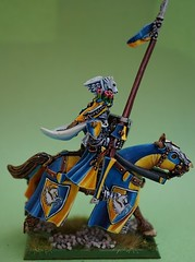 GK2 Right (seaottre68) Tags: grand alliance order mounted barded citadel horse bretonnia bretonnian age sigmar knight games workshop