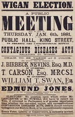 Meetings and events: Contagious Diseases Acts: Wigan6 Jan 1881