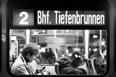 The Tram Nr. 2.. (Cem Bayir) Tags: street leica light people blackandwhite bw window night 50mm schweiz switzerland lowlight nacht f14 zurich streetphotography tram zürich schwarzweiss summilux asph zh leicam asperical leicam240