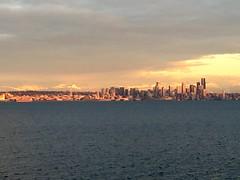Seattle sunset.