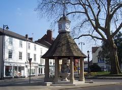 Victoria Fountain, Oxford, March 2009 (allanmaciver) Tags: trees england clock fountain memorial jubilee royal victoria queen diamond oxford 2009 1897 1899 commemorate allanmaciver