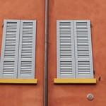 Les fenêtres de Modène, vieille ville, Emilie-Romagne, Italie. thumbnail