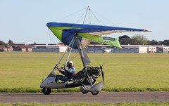 Pegasus Quantum 15-912 G-BZUI Lee on Solent Airfield 2016 (SupaSmokey) Tags: pegasus quantum 15912 gbzui lee solent airfield 2016