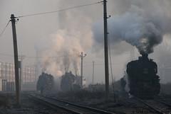 I_B_IMG_8780 (florian_grupp) Tags: asia china steam train railway railroad fuxin liaoning sy coal mine 282 mikado steamlocomotive locomotive