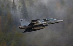 Misty-Morning-Magic (Arommore Images) Tags: lfa17 lakes lowleveljetphotography lowfly fighter grippen twoseat