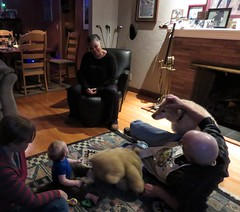 an evening with tom and bonnie (carolyn_in_oregon) Tags: portland oregon bonnie tom jacob me winston dog