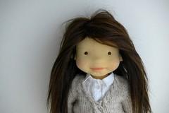 NINA 20inch doll (Dearlittledoll) Tags: waldorf waldorfdoll dearlittledoll steinerdoll montessori mohairhair natural naturalkids naturalfiberdoll naturalfiberartdoll clothdoll