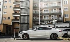 Backyard Sleeper. (fabianbaege) Tags: mercedes benz c63 amg s coupe v8 v12 biturbo 65 55 63 c carspotting supercar kln cologne