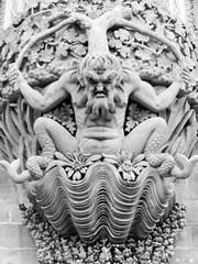 Evil statue