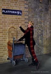Harry Potter (the new Evenstar) Tags: londres london londoncity viaje travel exploring eurotrip england viajera kingscross harrypotter