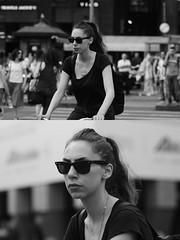 [La Mia Citt][Pedala] (Urca) Tags: milano italia 2016 bicicletta pedalare ciclista ritrattostradale portrait dittico bike bicycle nikondigitale mir biancoenero blackandwhite bn bw 89830