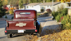 1937 Chevy pickup (tonywild241) Tags: 1937 1937chevrolet pickup truck automotive transportation vintage antique canada outdoors britishcolumbia okanaganbc street tree autumn fallcolors cityscape townscape vernonbc