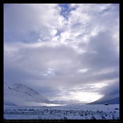 Freezing morning -2 (derek*werner) Tags: rolleiflex rollei 35f planar kodak e100vs expired epson gtx980 v850 aba sichuan qinghai outdoor trekking 120 6x6 analog slide
