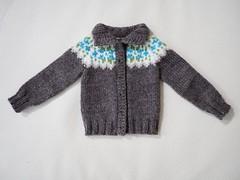 Just needs buttons! (Jay Bird Finnigan) Tags: knitting stranded fairisle knitpicks stroll dollstown dt7 doll msd bjd