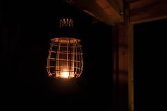 it's dark outside (tinfrey) Tags: 2016 candle canon dark g7x july lantern night serignan srignan