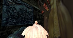 Come play with me (Allie Carpathia) Tags: horror hauntedhouse autumn halloween beauty ladyinwhite secondlife