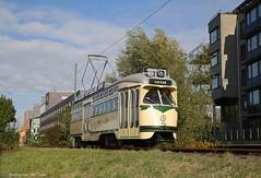 Najaarspret (1) (Maurits van den Toorn) Tags: tram tramway strassenbahn tranvia trolley streetcar pcc htm amsterdam museumtram villamos elctrico
